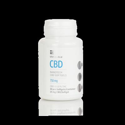 CBD kapszula 750 mg 30 db