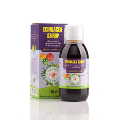 Echinacea szirup - Bálint Cseppek