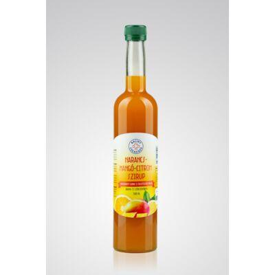 Narancs-mangó-citrom szirup